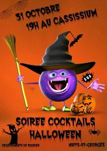 Soirée Halloween au Cassissium