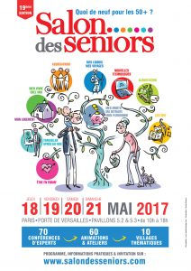Salon des Séniors Paris du 18 au 21 mai 2017