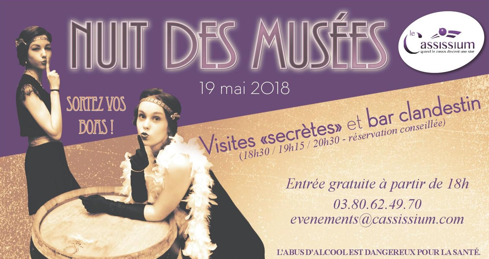 Nuit des Musées 2018 au Cassissium