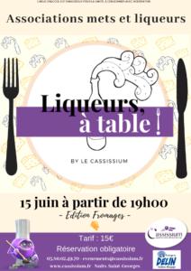 Accord fromages et liqueurs - Liqueurs, à table !