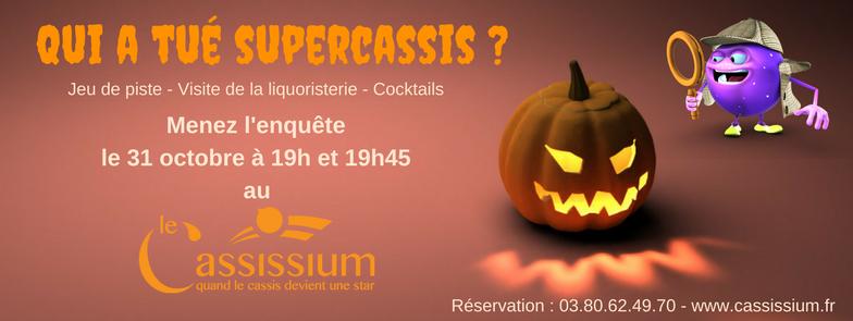 Soirée Halloween 2017 - Le Cassissium