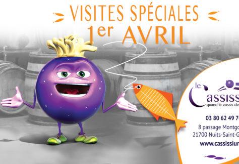 Visites spéciales 1er avril